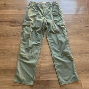 5.11 Tactical lite pro green cargo pants 10
